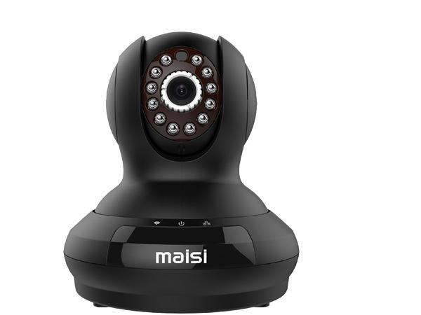 [UPGRADED] MAISI HD 1MP Wireless Security IP Camera with 3dB ENHANCED WiFi, Pet Monitor - Smart Setup In Minutes, Motion Detection Recording, Mobile Push Alerts, And MORE [Energy Class A+] (UPC 712319560952)